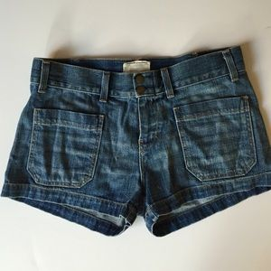 Current/ Elliott navy short