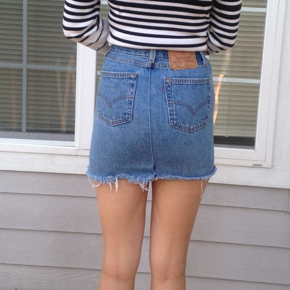 50% off Brandy Melville Dresses & Skirts - Levi vintage denim ...