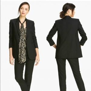 Elizabeth & James Heather black Blazer Size 6