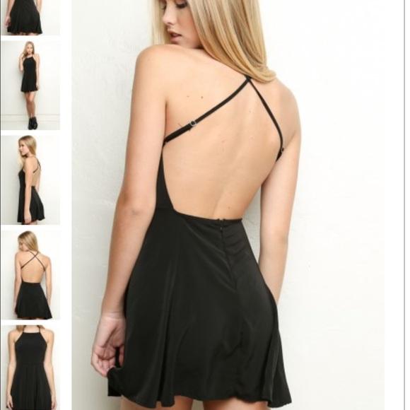 a477a80850 Brandy Melville Kristen dress in black