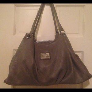 prada pink leather handbag