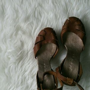 Shoes - Handmade One of kind Leather Heels