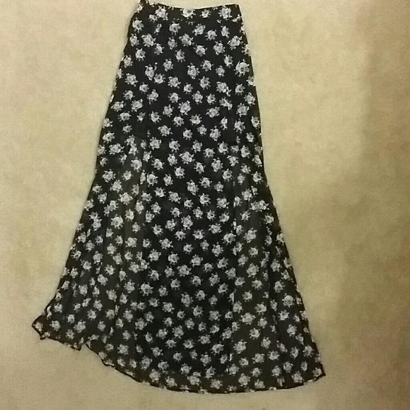 45 divided dresses skirts maxi slip skirt from