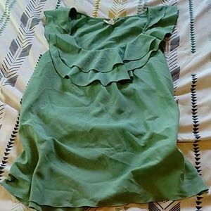 Kenar Tops - Aqua colored blouse