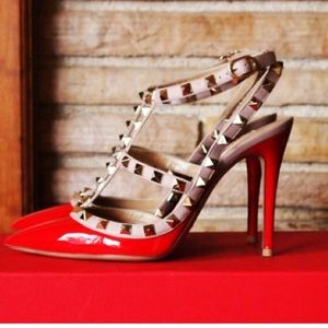 Valentino Shoes - Red Valentino rockstud