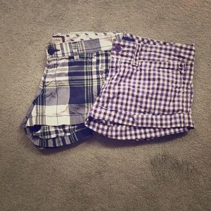 Pants - A&F and AEO shorts bundle