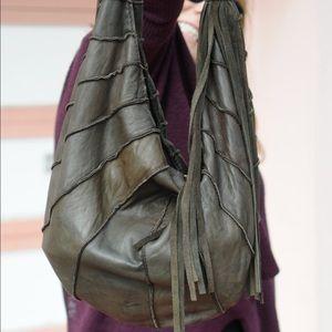 Lucky Brand fringe leather bag