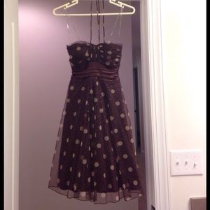 Dresses & Skirts - ❗️FINAL PRICE❗️Brown and Gold Dress