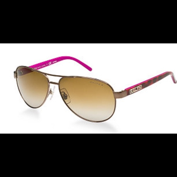 97f4a4bcb2 Ralph polarized sunglasses Auth. pink brown RA4004.  M 5564a342ea99a67bd801147b. Other Accessories you may like. Ralph Lauren  sunglasses