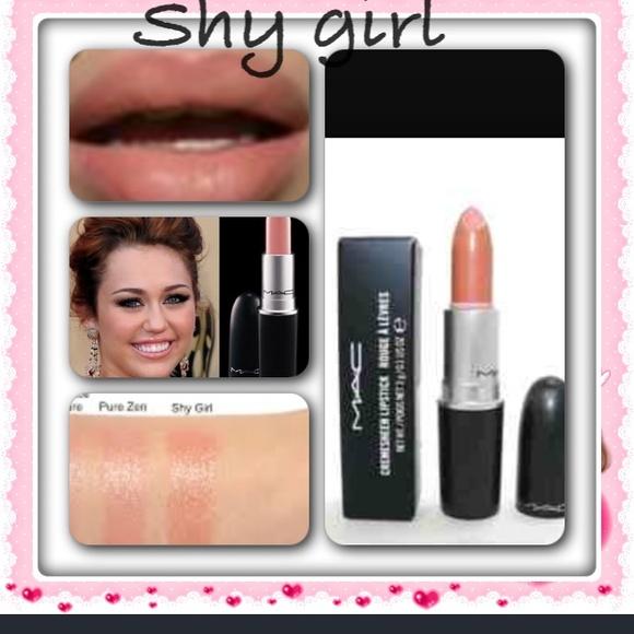 New MAC Cosmetics Makeup | Mac Lipstick Shy Girl | Poshmark #ST21