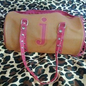 Handbags - 🔴Orange/pink duffle