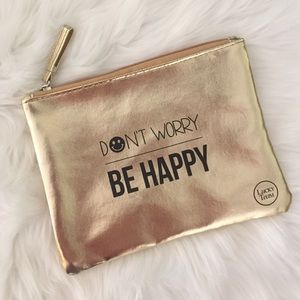 """Don't Worry Be Happy"" Pouch"