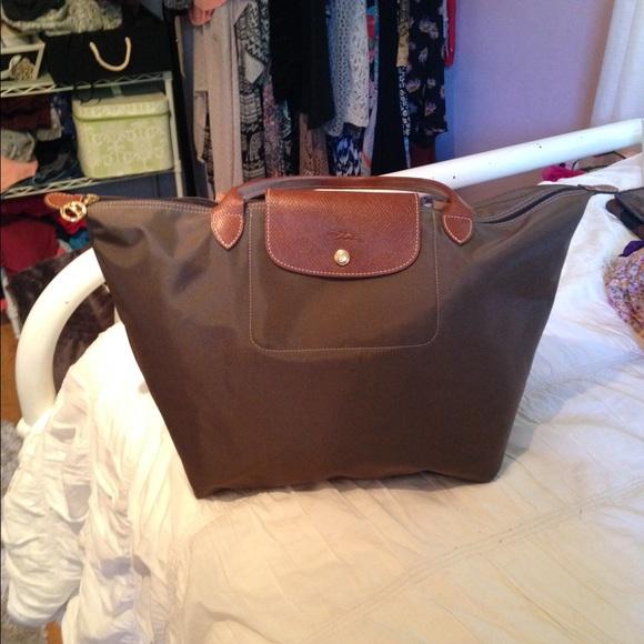 Longchamp Handbags - Longchamp  Le Pliage  tote size Large ... af8c8e799d