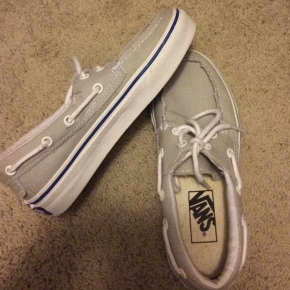e028b46ff4c3ff Vans Shoes - Light gray vans- women 5.5