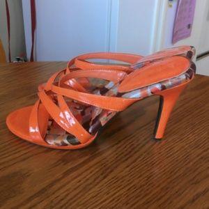 Ann Marino Shoes - Gorgeous orange heels