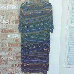 Connected Apparel Dresses & Skirts - NWT CONNECTED APPAREL Striped Bandage Dress