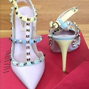 Valentino Shoes - Valentino rockstud pastel 100mm