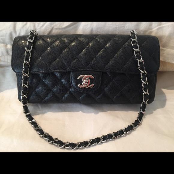 70f53d8b2c26fd CHANEL Bags | Sold Classic Caviar East West Flap | Poshmark