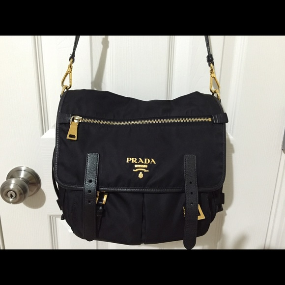 Prada Crossbody Nylon Bag
