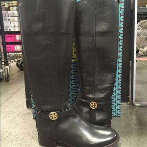 Tory burch tall boots size 6.5