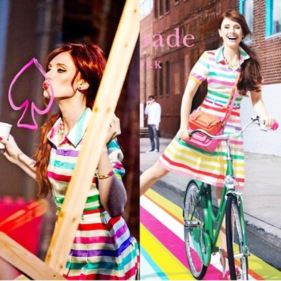 67a51bfae16 kate spade Dresses   Skirts - Sale‼ Kate Spade Jeanette Candy Striped Dress