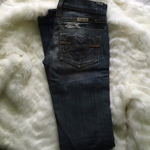 BlackShaped Heart Frankie B. Jeans