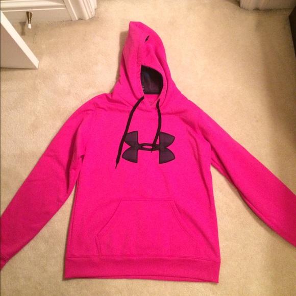 5f6c1e843 Under Armour Jackets & Coats | Hot Pink Hoodie | Poshmark