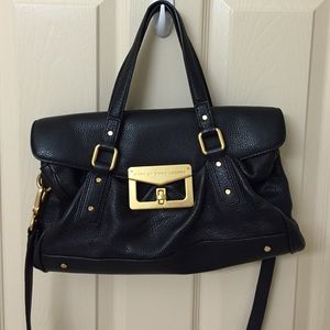 Marc by Marc Jacobs Bianca Leather Satchel