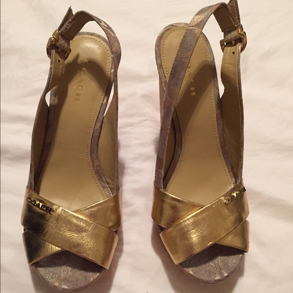 coach coach platform sandals 6 5 from jenn s closet on