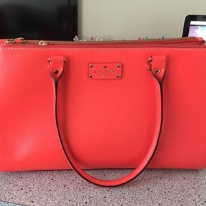 Kate Spade Coral Wellesley Martine Handbag