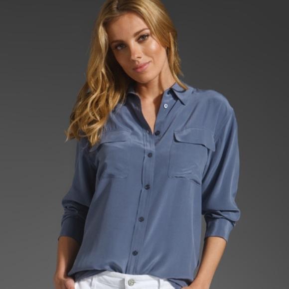 8db25c086acc44 Equipment Tops - Equipment Femme 100% Silk Blouse