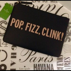 kate spade Pop, Fizz, Clink! Gia Clutch