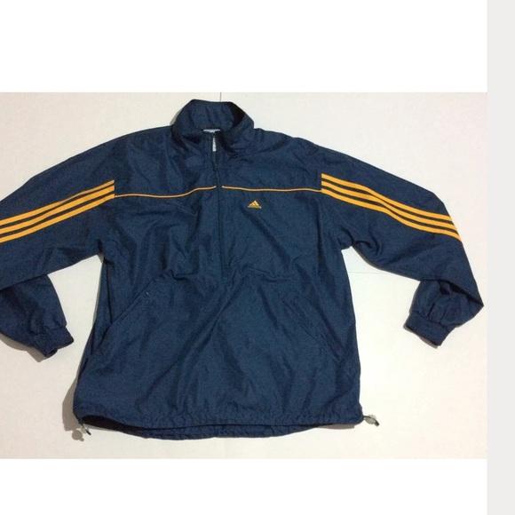 73 off adidas jackets blazers vintage adidas half zip. Black Bedroom Furniture Sets. Home Design Ideas