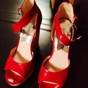 Sexy red wedges