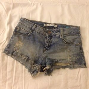 Zara premium wash collection shorts