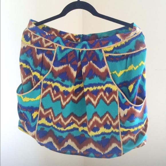 Gemma Dresses & Skirts - Gemma Print Skirt