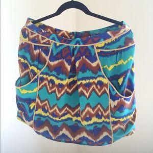 Gemma Print Skirt