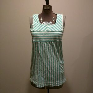 Candy striped Anthropologie tank