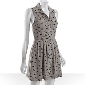 BCBGeneration Dresses - BCBGeneration Fossil Horse Print Dress
