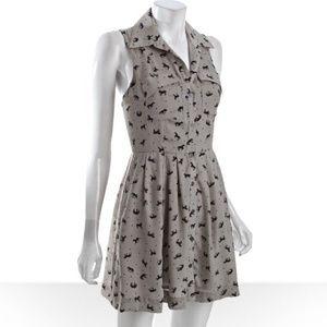 BCBGeneration Dresses & Skirts - BCBGeneration Fossil Horse Print Dress