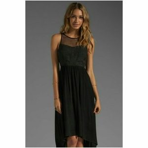 Ladakh Dresses & Skirts - Revolve Ladakh Black high-low mesh upstage dress