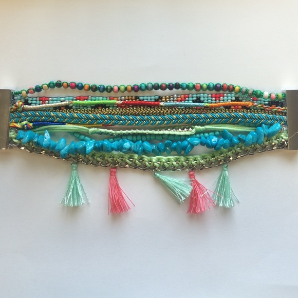 55 jewelry stacked beaded bracelets from j s closet