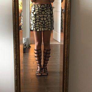 LF Skirts - LF Leopard sequin skirt - never worn w tags