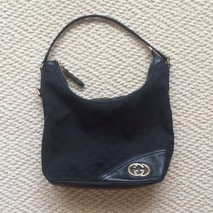  Authentic Gucci hobo bag