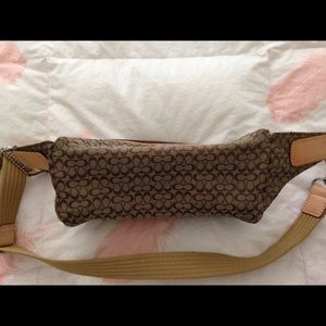 65 Off Coach Handbags Authentic Coach Fanny Pack From