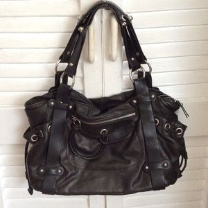 Handbags - Absolutely gorgeous Desmo leather biker chic bag👜