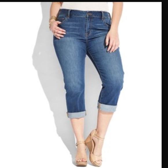 81% off Lucky Brand Pants - Lucky Brand Plus Size ginger crop ...