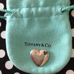 Tiffany & Co. Jewelry - Tiffany silver heart charm - Does not come w chain