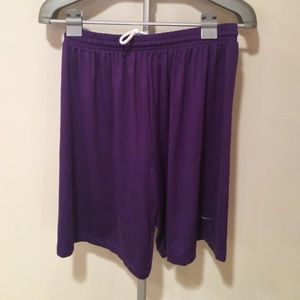 Nike fit dry purple M shorts