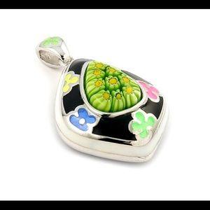 Alan K Jewelry - Murano Glass silver 925 Pendant by Alan K 8MP634